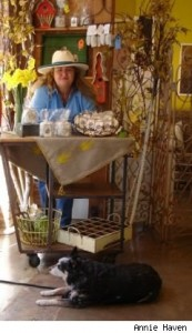 Annie Haven, The Tea Bag Lady