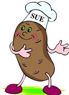 "Sue Tiffany, ""Small Potato, Right Potato"" Jolene Adams American Rose Society President"