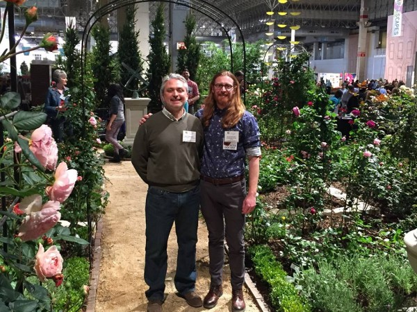 Landscape Architect, Scott Mehaffey, Designer, Rosarian Nathan Beckner