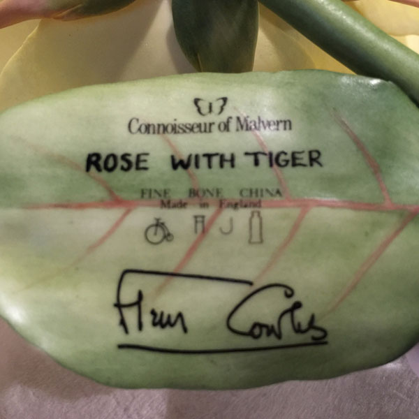 Tiger With Rose Connoisseur of Malvern, by Fleur Cowles