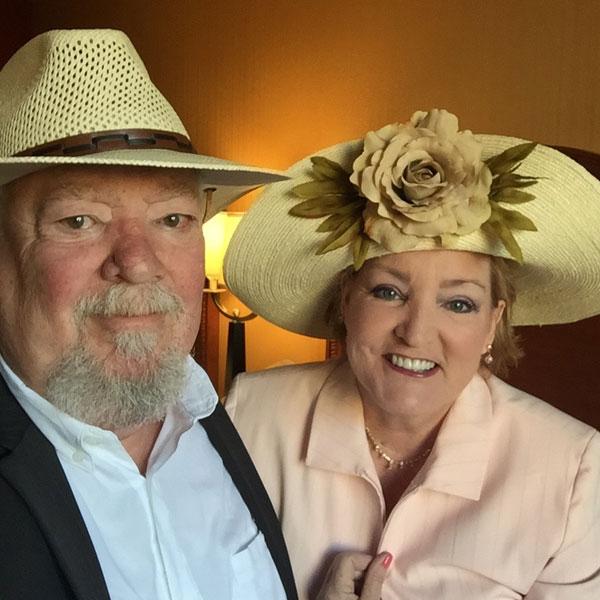 Famous and Elusive 'Big Daddy' | My custom amde hat for The #BiltmoreRoseTrials