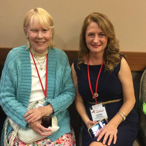 American Rose Society Executive Director, Laura Seabaugh