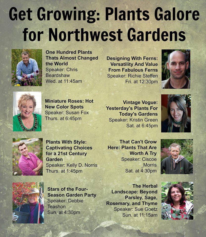 Northwest Flower & Garden Show Speakers