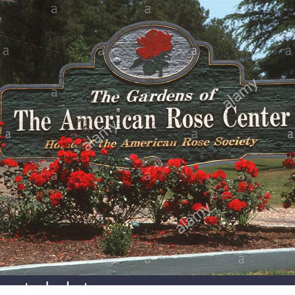 The Gardens of The American Rose Center, Shreveport, LA