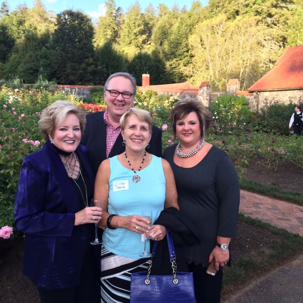 The Van Cleaves, Chris & Tina his lovely bride of Rosechat Radio and Cindy Dale at the Reception