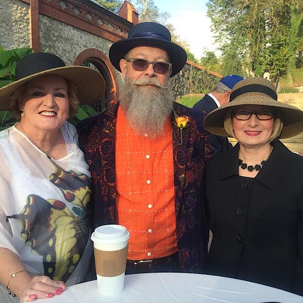 Susan Fox | Jim Wilson | Teresa Byington | Judges at Biltmore Rose Trials
