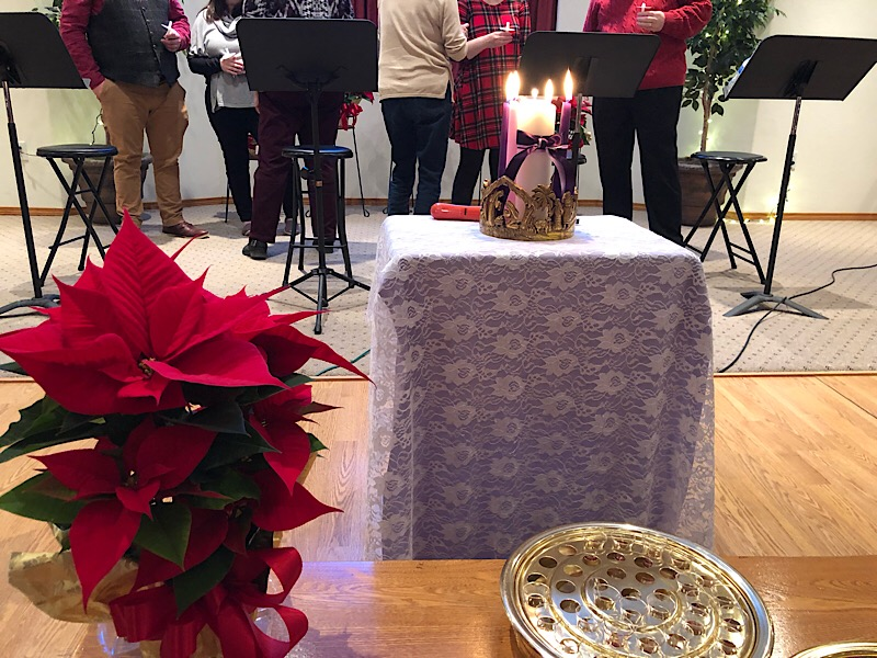 The Advent Candle Lighting Ceremony