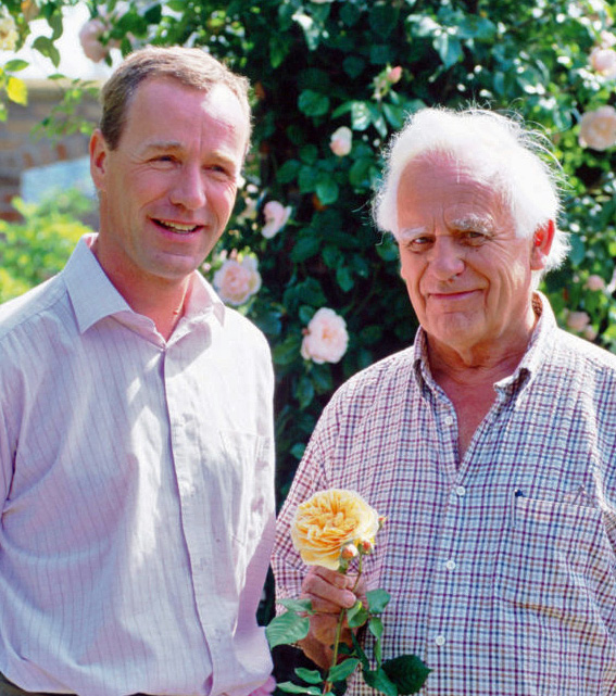 David, Jr. with His Father